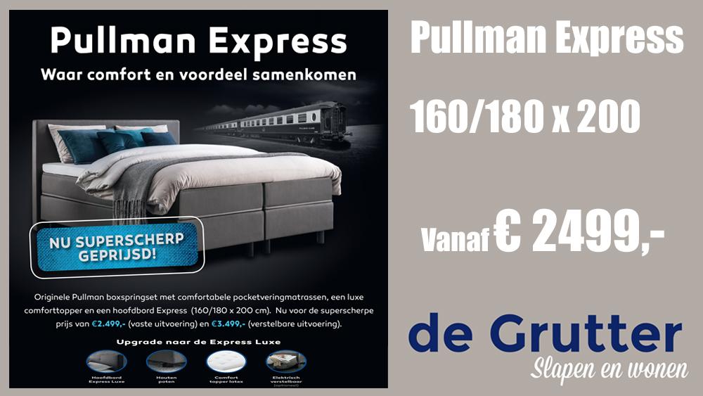 Pullman Express Boxspring Set